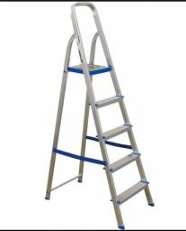 escada aluminio 5 degraus