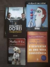 Livros, R$5,00 cada um