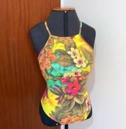 Body Floridôw Amarelo