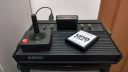 Atari Polyvox original + cartucho com centenas de jogos