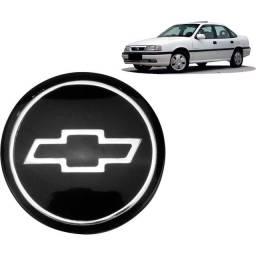 Emblema Grade Vectra Preto 1992 Até 1996 Gravata Acrílica