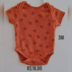 Body bebê 3M