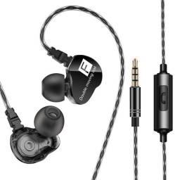 Qkz ck9 Fone de ouvido para retorno de palco ou uso cotidiano