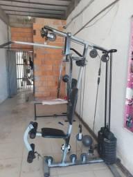 Vendo estação de academia mais equipamentos de treino aceito Bicicletas no negócio