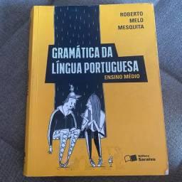 Livro Gramática da língua portuguesa, Roberto Melo Mesquita (usado)