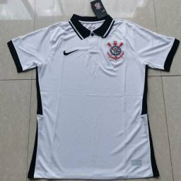 Camisa Corinthians torcedor 2021