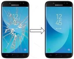 Vidro da Tela para Samsung J5 Pro J530 , Mantenha a Originalidade do seu Estimado Celular!