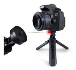 Mini Suporte Tripe De Mesa Escalável Para Celular e Câmeras Gira 360º