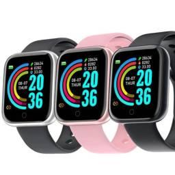 Smartwatch conecta no celular relógio inteligente Y68