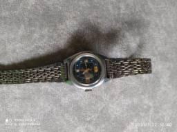 Relógio Oriente automático feminino antigo