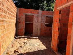 Vendo ou troco Terreno 5x12 Construído com estrutura para sobrado