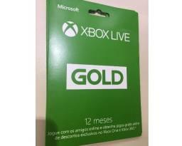 Cartão Live Gold 12 meses para Xbox One e Xbox 360