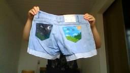 2 shorts e 1 capri