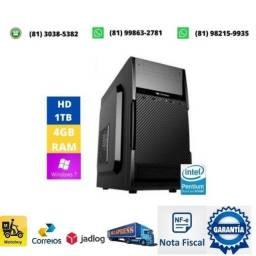Título do anúncio: Computador dual core lga 1155 + memoria 4gb ddr3 + fonte 200w + hd 1tb