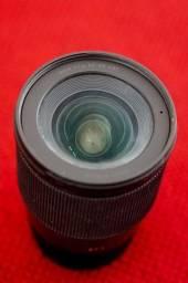 lente sigma 16mm sony 1.4 - excelente estado