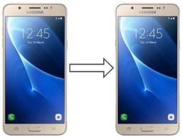 Vidro da Tela para Samsung J5 Metal J510, Mantenha a Originalidade do seu Celular!
