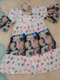 Vestido sereia tamanho 8