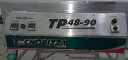 Forno esteira pizza e esfiha tecnopizza até 48cm