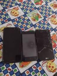 vendo 3 celulares e 1 fone Via bluetooth