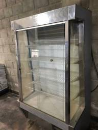 Freezer comercial com Vidro
