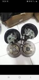 Sistema de freio a disco traseiro saveiro gol Voyage g5 g6 g7 é g8