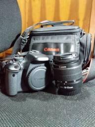Kit Canon t3i lente 18-55mm e tripé