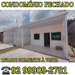 Casa no Blindex, Portão automático fica no bairro de Flores