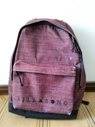 Mochila BillaBong All Day Canvas Bordô Usada Média
