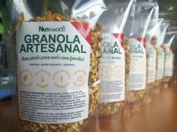 Granola Artesanal Saudável e Nutritiva