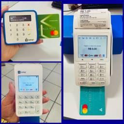 Máquinas de cartão sem aluguel