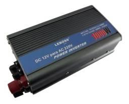 Inversor De Tensão 1000w 12v 220v Transformador Senoidal Mod