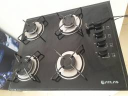 Fogão cookTop 4 Bocas acendimento automático + Balcão