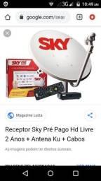 Instalação de Antenas Sky