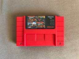 Trilogia Donkey Kong Country + Competition Cartridge Super Nintendo Snes