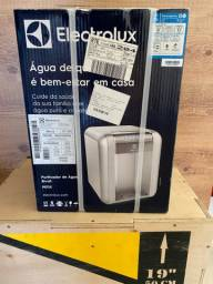 Filtro de água Eletrolux Inox.