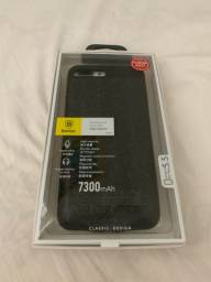 Case carregadora iphone 8 plus 7300 mAh