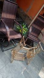 Cadeiras de de balanço