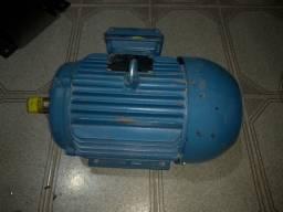 Motor Eletrico Trifasico De Gaiola 5cv 4 Polos 220/380V Weg<br><br><br>