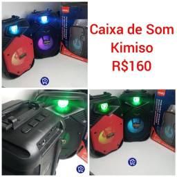 Caixa de Som Kimiso 10 reais de DESCONTO para os 5 Primeiros Clientes
