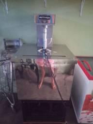 Máquina de massa de sorvete e picolés