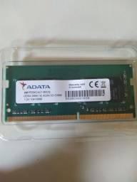 Memória Ram ADATA 4gb DDR4 2666MHz SODIMM
