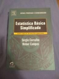 Estatística Básica Simplificada: Teoria e Mais de 200 Questões Comentadas