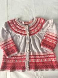 Casaco de lã  TAM 12 meses