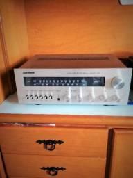 Vendo amplificador gradiente, preço pra levar