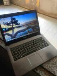 Notebook HD 500GB 2GB Dual core parcelo no cartão