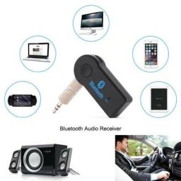 Receptor Bluetooth P2 Auxilar Carro Som Audio Android Musica
