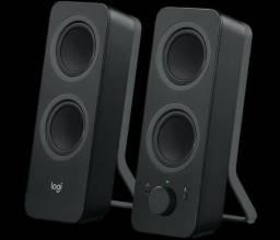 Caixa de Som Logitech Z207 Bluetooth 10W P3 Preto