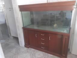 Aquario 1,60mt comprimento x 0,60 largura