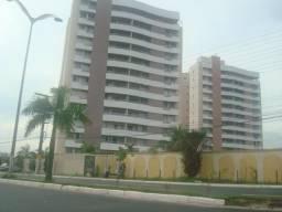 Condomínio Evidence Ponta Negra, Semi Mobiliado, 3 qts, 117m