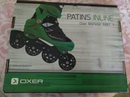 Patins OXER Tam 32 ao 35 R$160
